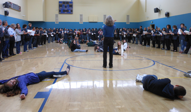 battle hymns rehearsal