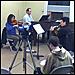 The Sierra Ensemble rehearsing
