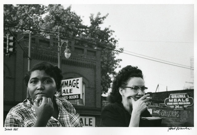 Robert Frank, Detroit 1955