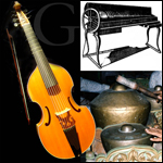 Gamba, Gamelan and Glass Harmonica