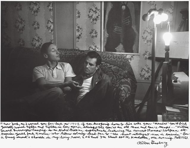 William S. Burroughs and Jack Kerouac in the Fall of 1953