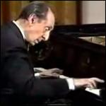 Vladimir Horowitz in recital at the White House