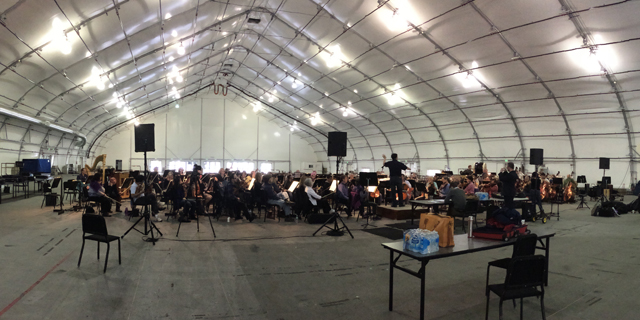 Symphony Silicon Valley rehearsing 'The Lord of the Rings'