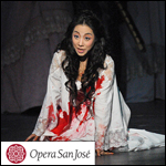Sylvia Lee as Lucia di Lammermoor