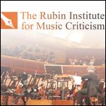 Rubin Institute for Music Criticism at SFCM