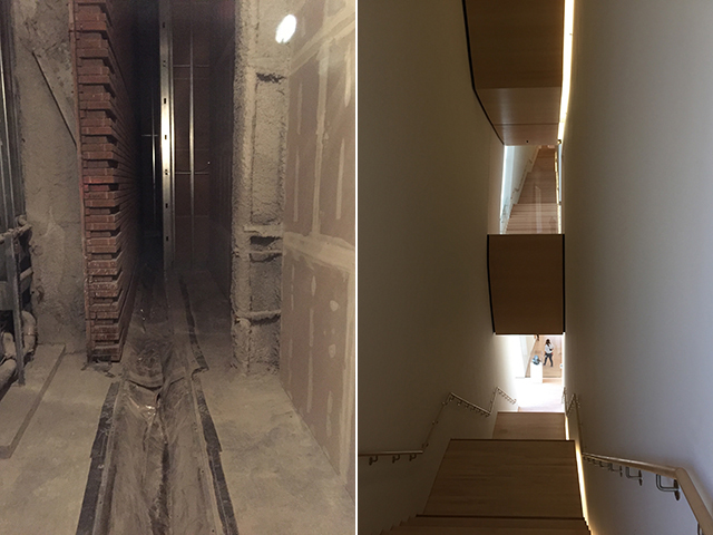Seismic Gap and Staircases